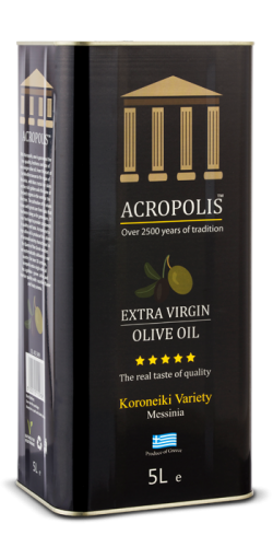 Acropolis Extra Virgin Olive Oil Tinned 5L