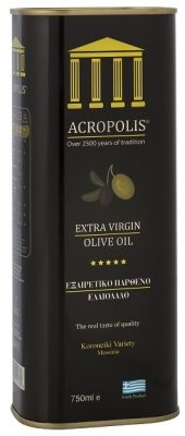 Acropolis Extra Virgin Olive Oil Tinned 750ml